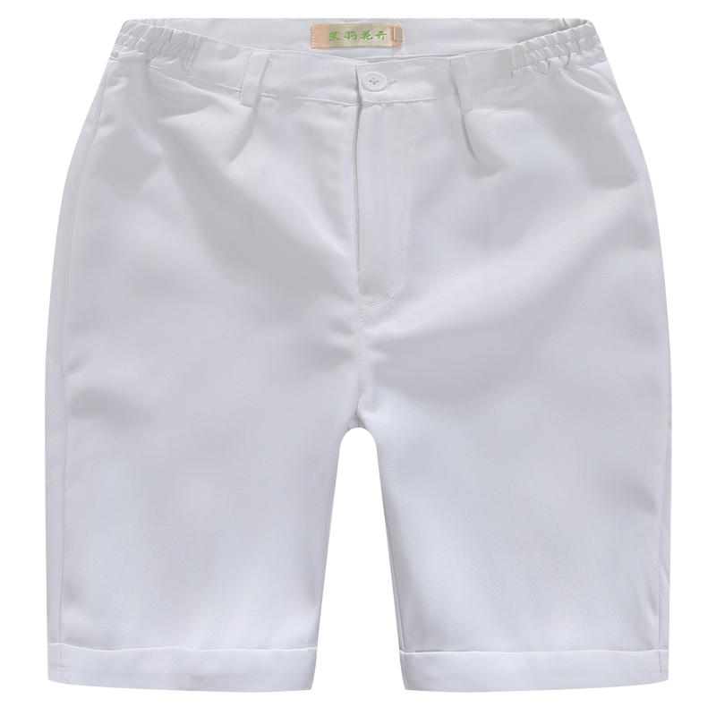 Image 3 - Boys Trousers Chorus Clothing Pure White/Black Students Recital Contest Straight Pants Boys Comfortable Latin Dance TrousersPants   -