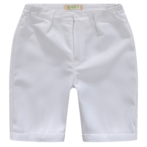 Image 3 - Boys Trousers Chorus Clothing Pure White/Black Students Recital Contest Straight Pants Boys Comfortable Latin Dance Trousers