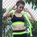 Mulheres Sem Encosto Sutiã de Fitness Tanque Tops Sem Mangas Mulheres Sutiãs Sem Costura de Secagem rápida À Prova de Choque Y25108