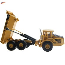 Alloy Diecast truck models dumper transport 1 87 Engineering car vehicle scale