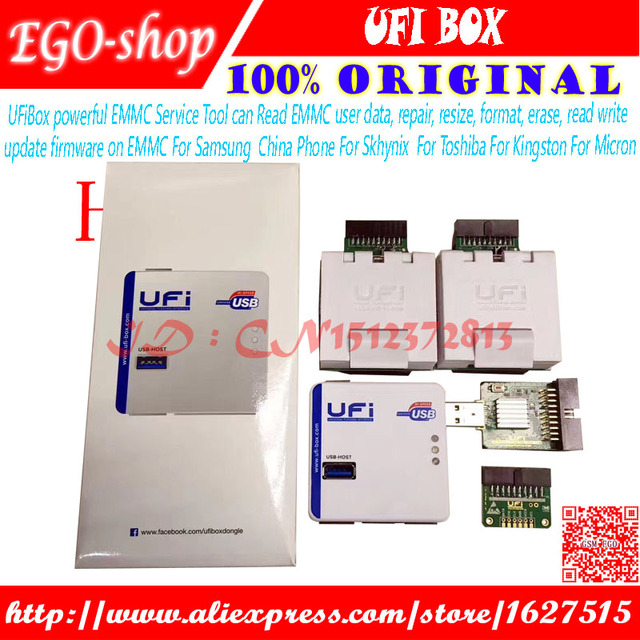 US $325 8 |gsmjustoncct 2018 new original UFI Box power /Ufi ful EMMC  Service Tool-in Telecom Parts from Cellphones & Telecommunications on