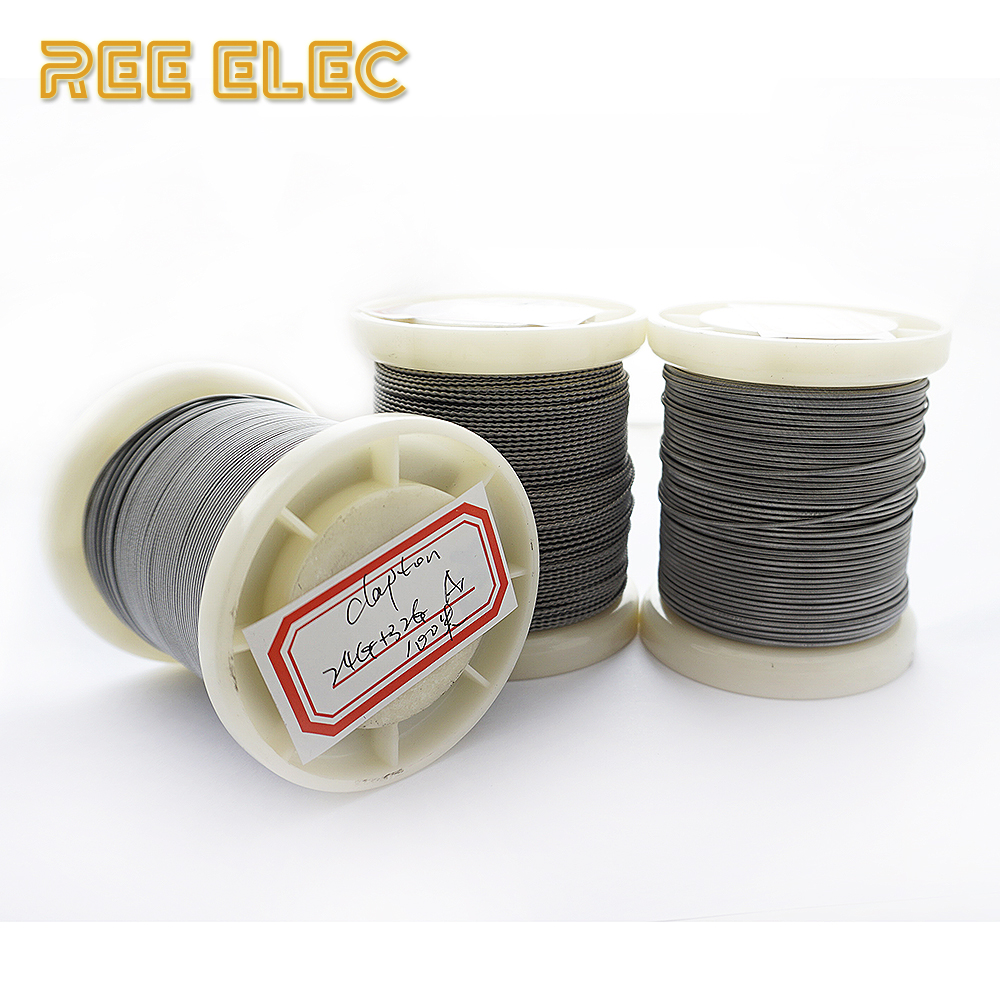 A1 Alien Clapton Heating Wire 100m/roll Electronic Cigarette RDA DIY Accessory Clapton Tiger Resistance Wire
