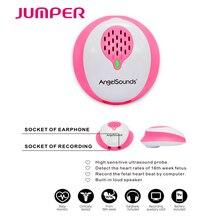 JUMPER ANGELSOUNDS Doppler Fetal-Fetal Doppler Detector Coração Fetal-Inteligente-APLICATIVO Gratuito de Conexão-Prenatal Baby Batimentos Cardíacos monitor de