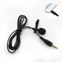2 шт 3,5 мм разъем микрофон-петличка с зажимом для галстука-на лацкане микрофонный микрофон для мобильного телефона для говорящих лекций