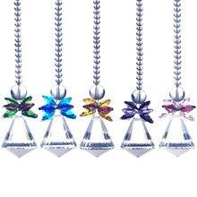 Pendulum suncatcher призмы crystal cut чайник радуга подвески лампы мм шт.