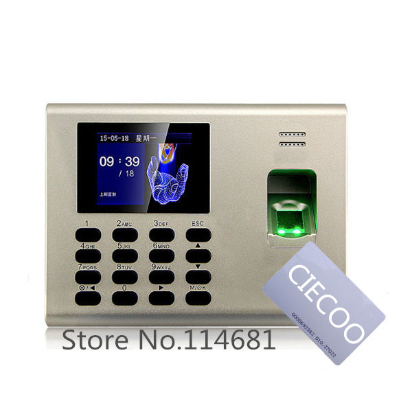 SSR TCP/IP fingerprint time attendance with RFID card reader Management System Backup Battery Time Attendance and Access Control fingerprint rfid card reader keypad time attendance access control terminal usb tcp ip fast and reliable performance