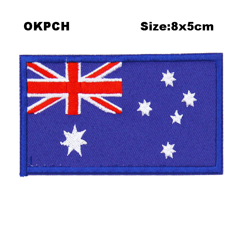 Home & Garden Apparel Sewing & Fabric Australia U.s.a Friendship Flag Label Pin Metal Badge Badges Icon Bag Decoration Buttons Brooch For Clothes 1pc Xy0114