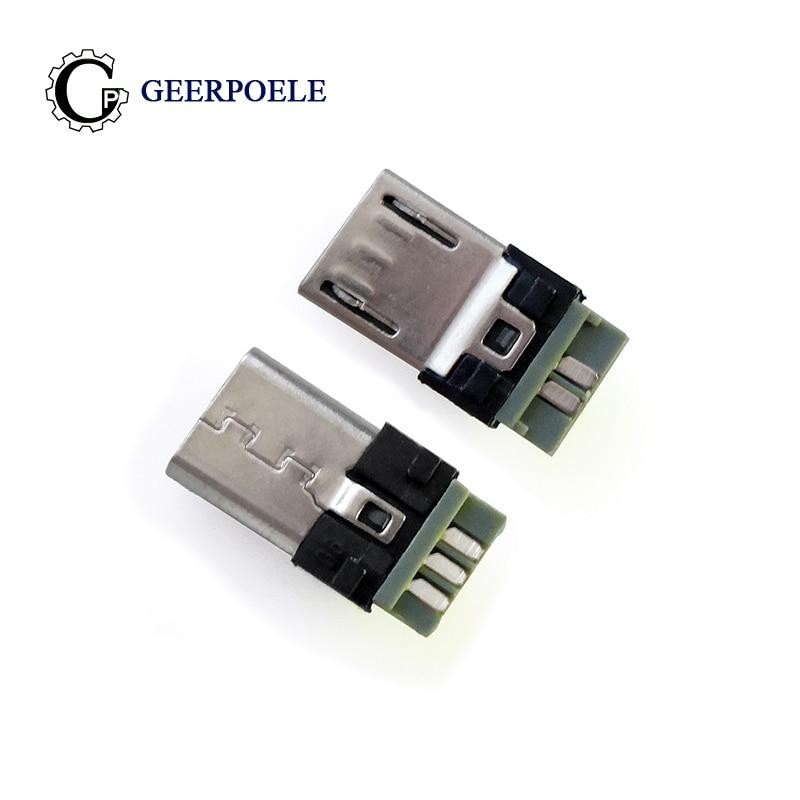 20 шт./лот, передние 3 5P 30V 1.5A микро USB разъемы, Штекерный штекер, электрические клеммы|Соединители|   | АлиЭкспресс
