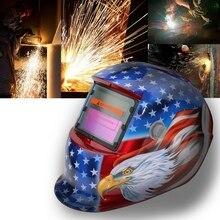 2018 New Pro Solar Welder Mask Auto-Darkening Welding Helmet Eagle head