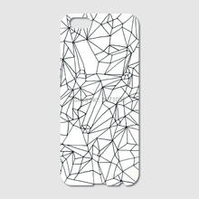For iPhone 6 6S 7 Plus SE 5S 5C 4S iPod Touch 6 5 For Samsung Galaxy S7 S6 Edge Cracked White Marble Mobile Phone case(China)