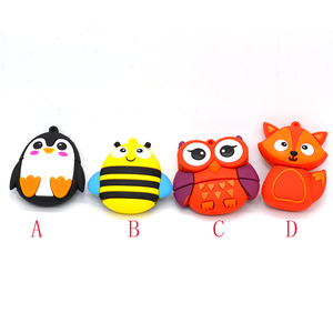 Image 2 - cute penguin owl fox pen drive cartoon usb flash drive pendrive 4GB/8GB/16GB/32GB U disk animal memory stick gift