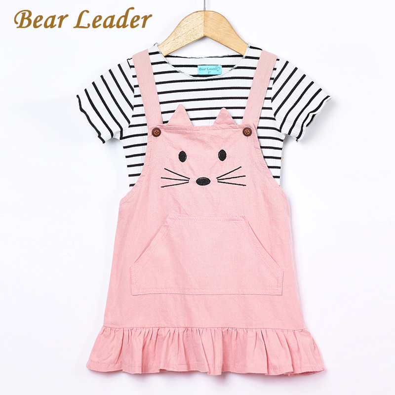 Bear-Leader-Girls-Sets-2017-New-Children-Clothing-Strap-Dress-Sets-Kids-Clothes-Pullover-Striped-ShirtDress-2Pcs-Suit-Outwears-1