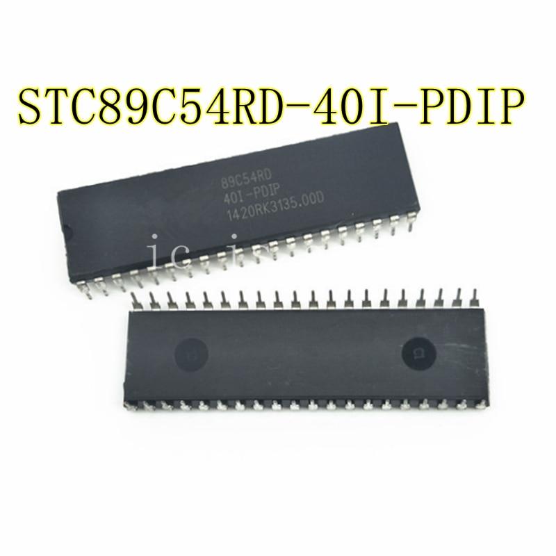 10PCS STC89C54RD 40I PDIP STC89C54RD 40I PDIP DIP 40 Best quality