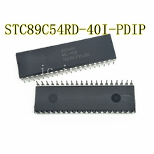 10PCS STC89C54RD-40I-PDIP  STC89C54RD  40I-PDIP  DIP-40 Best quality