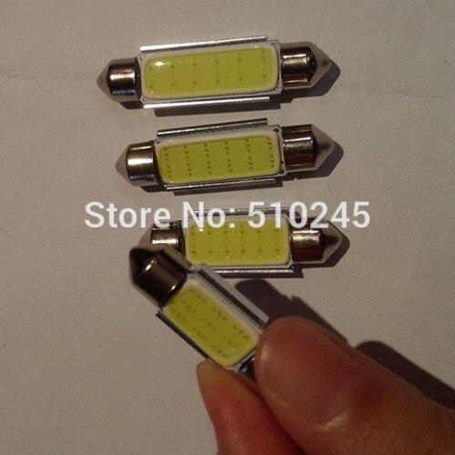 30X car led 36mm C5W festoon Reading Light COB or 12 Chips Aluminum Auto Super Bright 12V COB