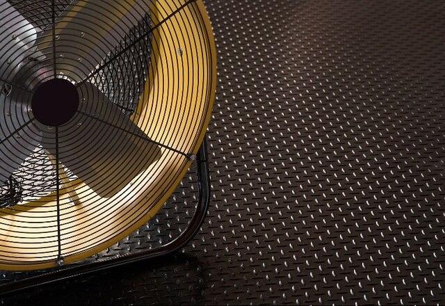 3mm di spessore nero grigio in pvc rivestimento del pavimento