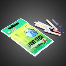 50pcs 10bags 4 5 37mm Float Glow Stick Night Fishing Green Fluorescent Light Fishing Lure
