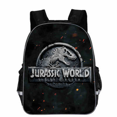 Jurassic World Dinosaur School Bags For Kindergarten Kids School Backpack For Girls Boys Children's Backpacks Mochila