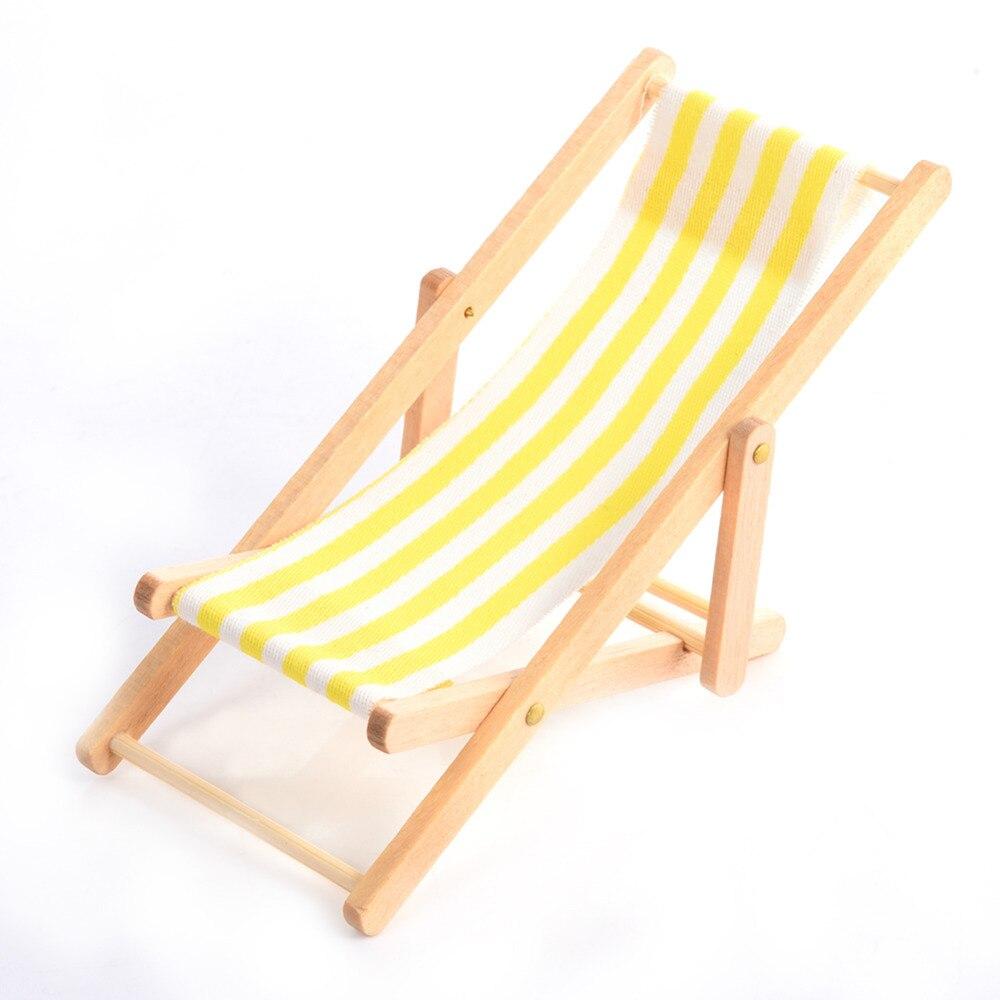 2017 Mini kuća za lutke Drvena stolica za plažu i klupa za - Kućni dekor - Foto 2