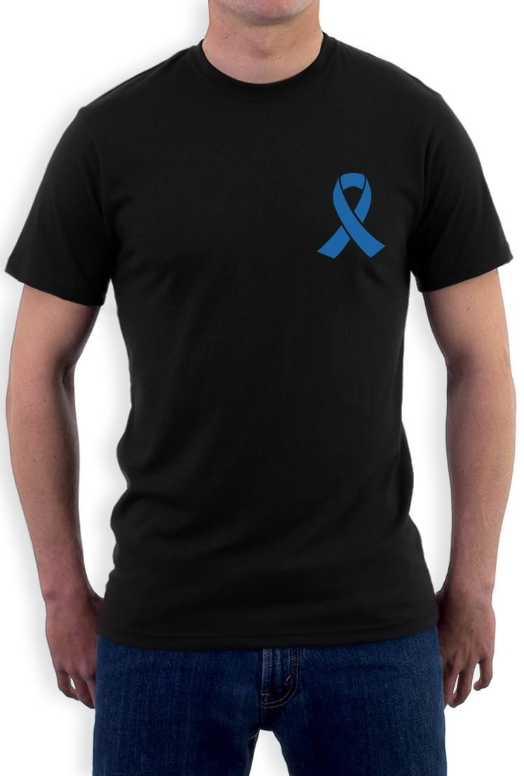 Funny Printed T Shirts MenS O Neck Autism Awareness Blue Ribbon Light It Up Blue Support Short Sleeve Tall T Shirt