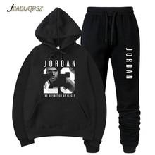 2019 nuevo JORDAN 23 hombres ropa deportiva de moda de marca sudaderas con  capucha Jersey Hip Hop hombre chándal sudaderas con c. 8eb926c2a8b