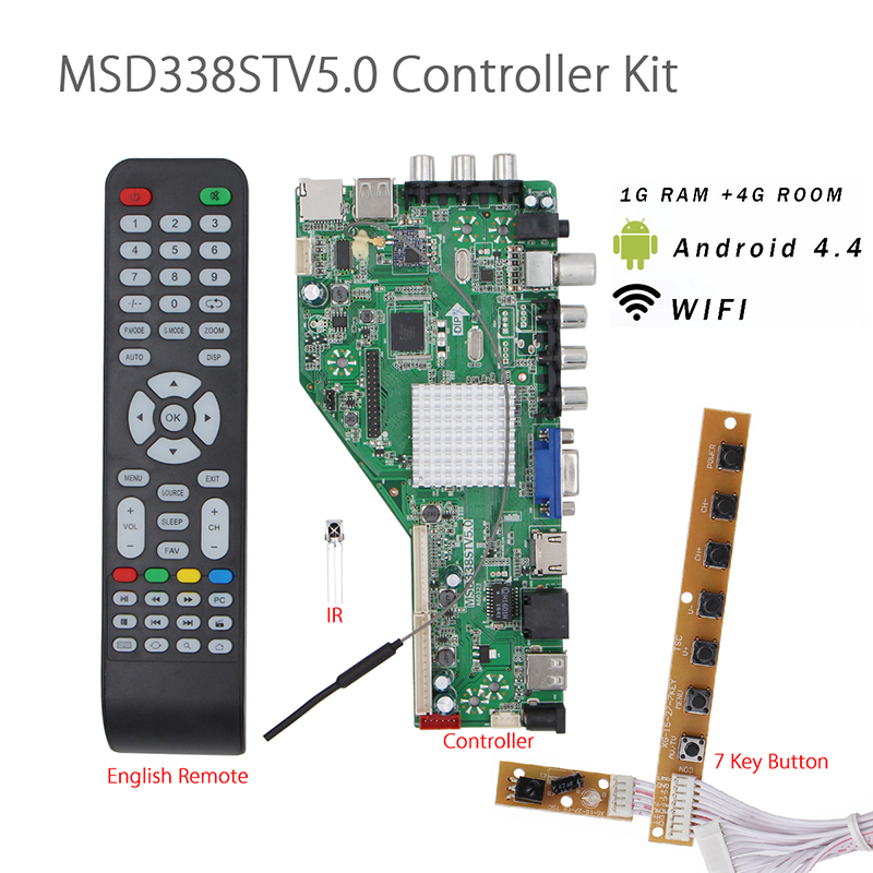 free shipping HDMI motherboard LA MV56U A 56RUU V56 LCD LED TV