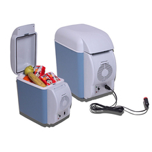 7.5L Car Home Portable Thermoelectric Fridge 12V Cooler Box Cooler/Warmer Electric Fridge Travel Refrigerator цена