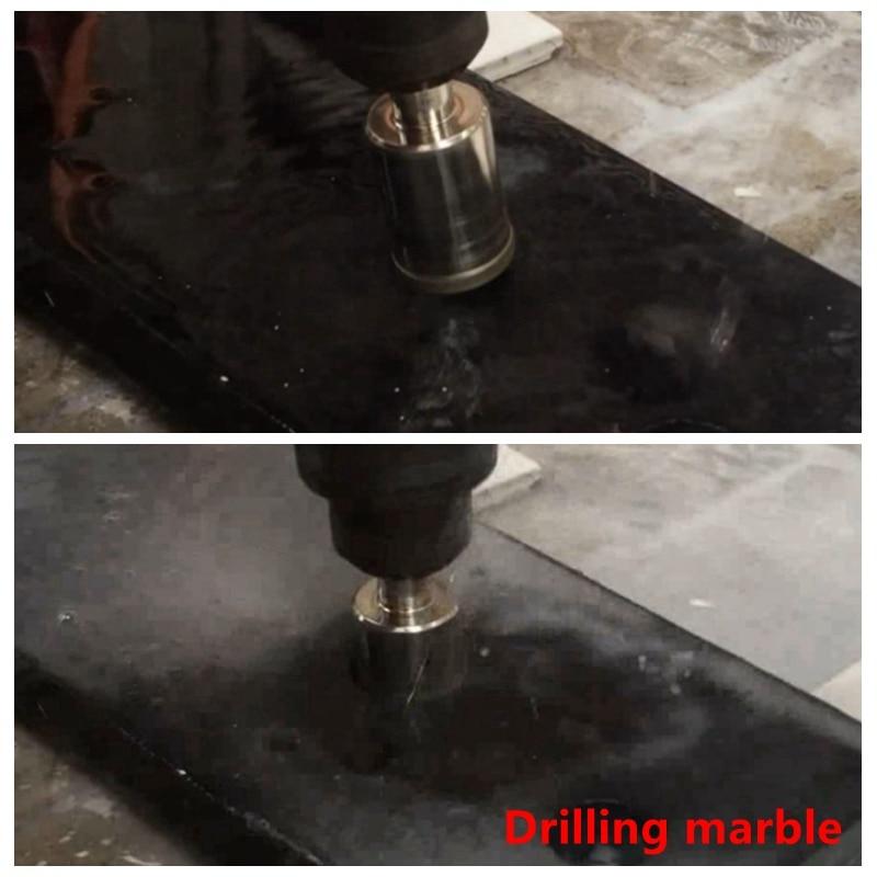 """14 mm 9//16/"""" Diamètre De Tête Carré Tige Maçonnerie Marteau De Forage Bit"""
