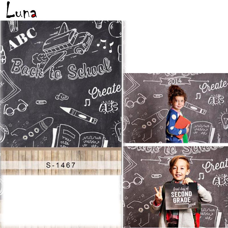 MEHOFOTO Bact A Fotografia Vinil pano de Fundo Para As Crianças Da Escola Blackboar Novo Tecido de Flanela Pano de Fundo Para estúdio de fotografia 1467