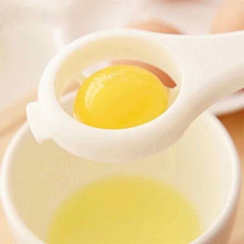 1 قطعة فاصل صفار البيض أداة فصل البروتين أداة البيض للطعام أداة مطبخ البيض الإبداعية