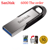 Sandisk 100% Original Genuine Ultra Flair USB 3.0 Flash Drive 16GB 32GB 64GB 128GB Pen Drive 16GB High Speed 32GB Memory Stick