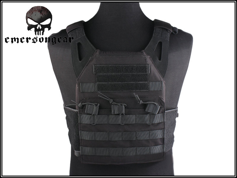 Tactical Jumper Carrier Vest 1000D Nylon EMERSON JPC Vest Simple Version Hunting Vest Airsoft Combat Gear EM7344 with Plate emerson 1000d molle jpc airsoft tactical vest simplified version outdoor training paintball hunting vest plate carrier em7344