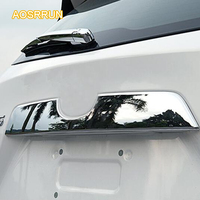 Free Shipping High Quality ABS Chrome Mazda CX 5 CX5 2012 2013 Back Door Decoration Cover