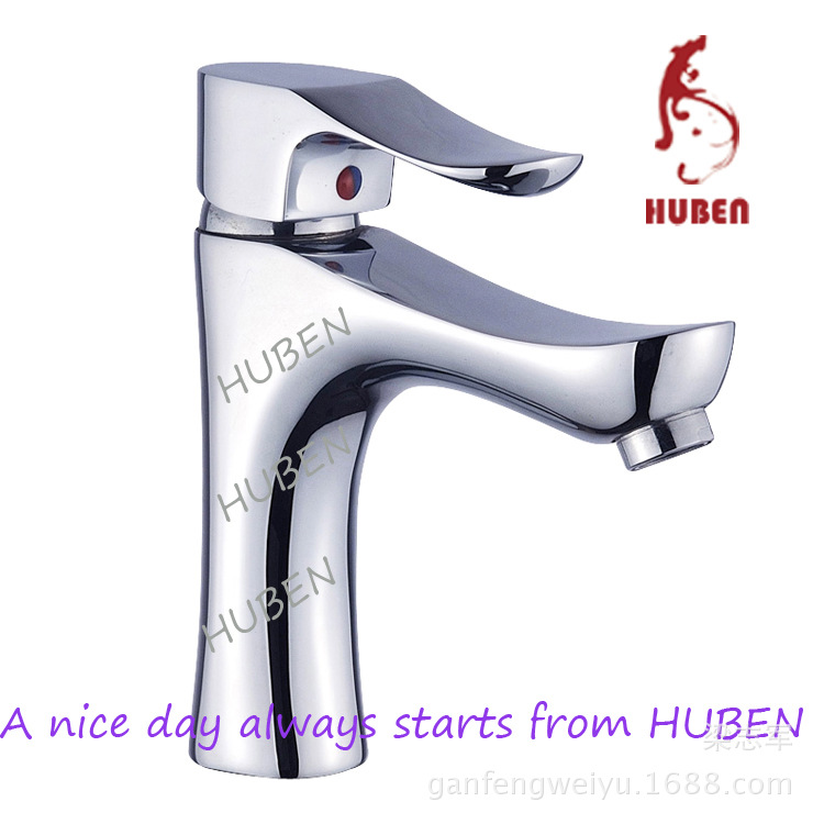 Tiger ran hot and cold faucet hole basin-wide copper basin faucet basin faucet audience Wash hands heightening paragraphTiger ran hot and cold faucet hole basin-wide copper basin faucet basin faucet audience Wash hands heightening paragraph