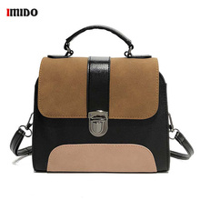 Women Faux Suede Bucket Crossbody Bag Girls Fashion Mini Panelled Leather Shoulder Bag Small Flap Tote Bag Black Handbag Purse men fashion business handbag dual use handbag shoulder bag tote flap bag chest bag