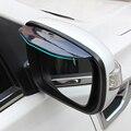 2 шт./лот Автомобиль Зеркало заднего вида наклейка дождь бровей для Volvo xc60 xc70 xc90 s40 s60 s80 v40 v50 v60 v70 аксессуары