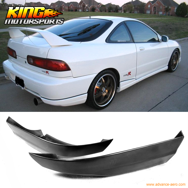Fit For 94 97 Acura Integra 2Dr T R Style Rear Bumper Lip