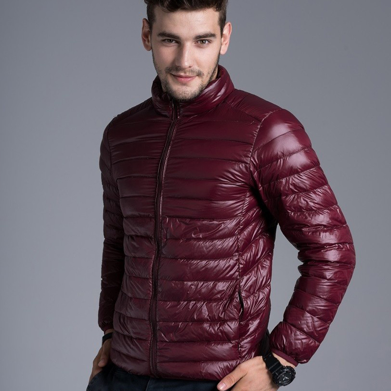 Aliexpress.com : Buy Men casual warm Jackets solid thin breathable ...