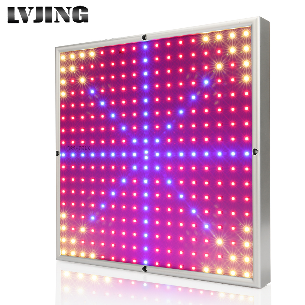 290LEDs 30W plants Grow Light SMD3528 AC85~265V Led Indoor Plant Lamps For Hydroponics Vegetables and Flowering Potted plant 20w 30w 120w led plant grow panel light hydroponics lamps ac85 265v smd3528 for greenhouse flowering plant indoor grow box