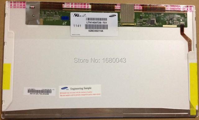 Envío gratis LTN140AT26 T01 N140B6-L08 LP140WH1 HSD140PHW1 HB140WX1-101 HB140WX1-100 B140XW01 V.0 V.6 V.8 N140BGE-L21 L12 L11