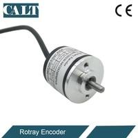 CALT China Günstigste Optische Inkrementelle Drehgeber 30mm Außen Ø Feste Welle 4mm NPN Ausgang 100 500 100 0 1024 PPR GHS30-in Füllstandmessgeräte aus Werkzeug bei