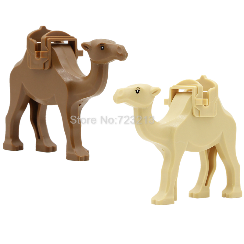 Brown Camel Blocks With Saddle Prince of Persia Single Sale The Sands of Time Building Set Model Bricks Kits Toys for Children da045 single sale the day of the dead coco movie hector miguel building blocks bricks best learning doll for children gift toys