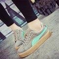 Tamanho 35-40, alta qualidade mulheres rendas respirável sapatos de lona sapatos baixos mulheres estudantes sapatos da marca sapatas das mulheres