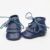 1 par novo couro genuíno double borla botas mocassins bebê moccs bebê sapatos macios franja criança macio sapatos de presente de natal