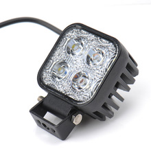 10pcs LED Spotlights 900LM Mini 6 Inch 12W 4 x 3W Car CREE LED Light Bar as Worklight / Flood Light / Spot Light for Boating