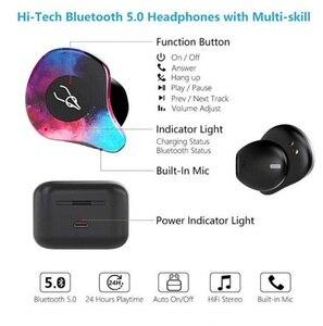 Image 5 - 2019 Mini Không Dây Bluetooth Sabbat X12 Pro TWS 3D Tai Nghe Nhét Tai Âm Thanh Stereo Vô Hình V5.0 Chống Nước Tai Nghe Tai Nghe