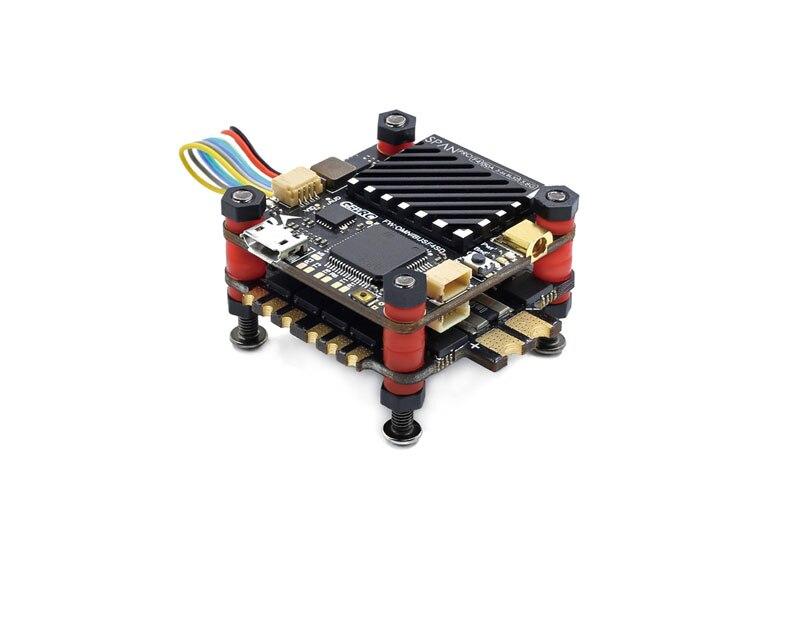 Обновления 50A 3 S 6 S F4 Полет контроллер 32Bit STM32F405 гироскопа/Acc SPI 4IN1 ESC Dshot 150/600/1200 w/LC фильтр для FPV Радиоуправляемый Дрон DIY
