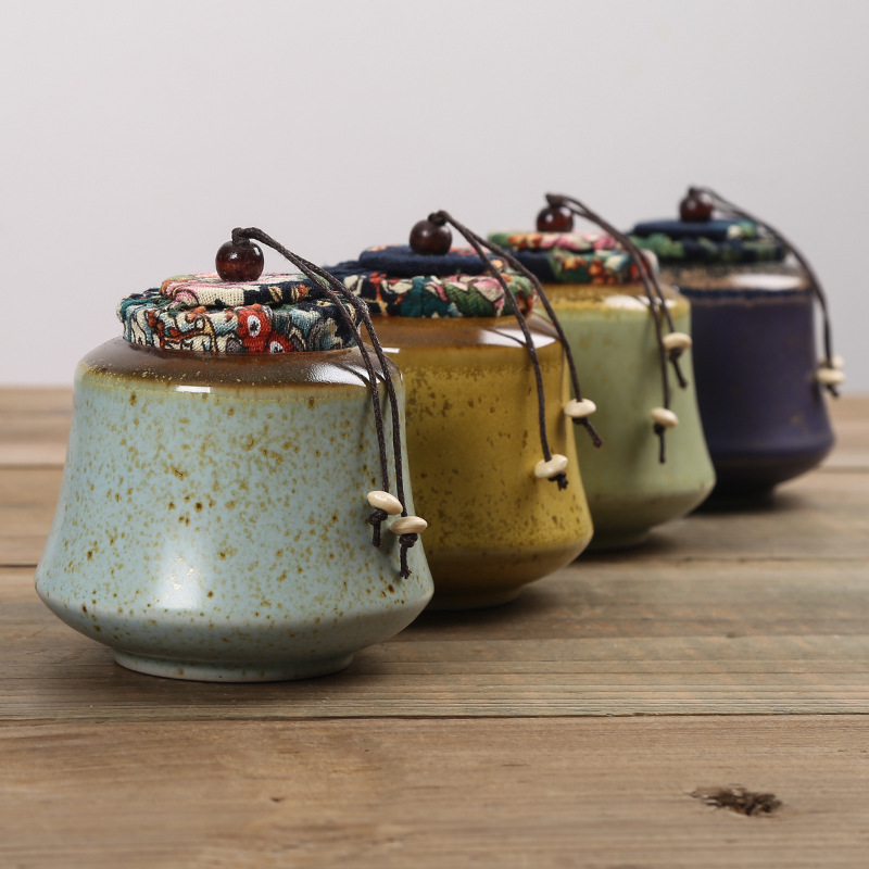 Tea Coffee Sugar Canisters Ceramic