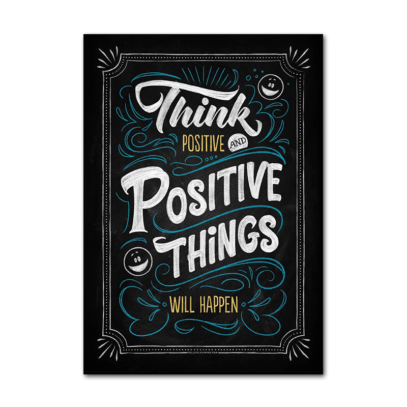 US $1.87 36% OFF|Motivational Classroom Wall Posters Inspirational Quotes  for Students Teacher Classroom Decorations TB Sale-in Wall Stickers from ...