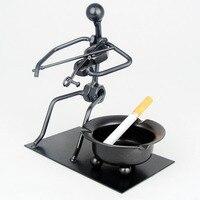 فندق كونتيننتال ريترو شخصية منفضة سجائر الإبداعية بار السجائر كوب kvt إرسال عيد الهدايا للرجال
